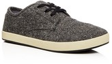Toms Men's Paseo Tweed Lace Up Sneakers