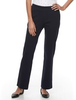 Croft & Barrow Petite Pull-On Knit Pants