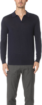 Club Monaco Lux Merino Johnny Collar Polo Shirt