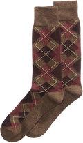 Perry Ellis Men's Argyle Socks