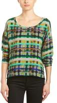 Plenty by Tracy Reese Crinkle Crepe Pullover.