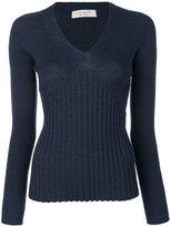 D-Exterior D.Exterior - v-neck jumper - women - Wool - M