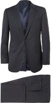 Lanvin - Navy Attitude Slim-fit Wool Suit
