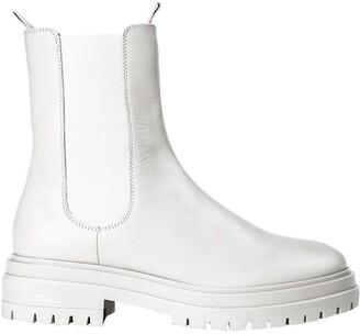 Tony Bianco Wolfe Milk Capretto Ankle Boots