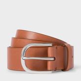 Paul Smith Men's Tan Leather Belt