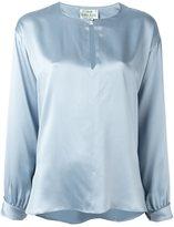Forte Forte keyhole detail blouse - women - Silk - I