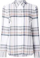 Tibi tartan check shirt
