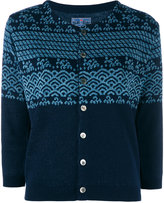 Blue Blue Japan v-neck cardigan - women - Cotton/Linen/Flax - S