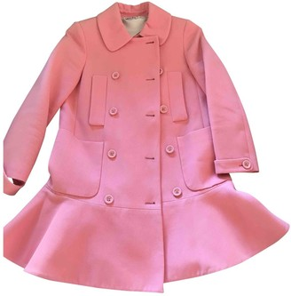 Miu Miu Pink Cotton Coat for Women