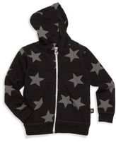 Nununu Toddler's & Little Boy's Star Zipper Hoodie