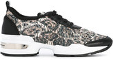 Ermanno Scervino animal print sneakers - women - Leather/Polyester/rubber - 39