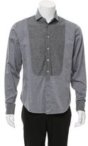 Rag & Bone Tuxedo Button-Up Shirt