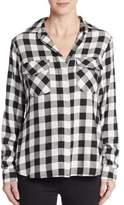 Sam Edelman Split Sequined-Back Shirt