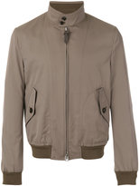 Tom Ford high neck zipped jacket - men - Cotton/Polyester/Cupro - 48