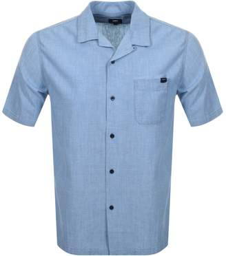 Edwin Short Sleeved Resort Shirt Blue