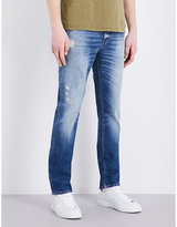 7 For All Mankind Ronnie Vintage Ronnie Seal Slim-fit Skinny Jeans