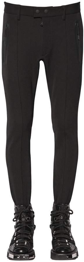 DSQUARED2 Stretch Jersey Stirrup Pants