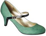 Merona Women's Erin Mary Jane Pump - Green