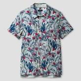 Cat & Jack Boys' Button Down Shirt Cat & Jack - Shell Flower Green