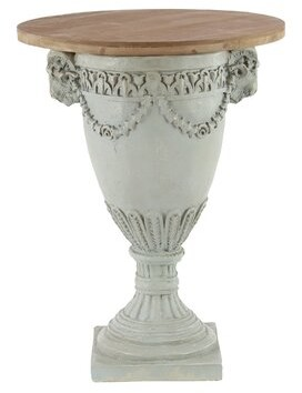 Ophelia Chandelle Traditional Urn End Table & Co.