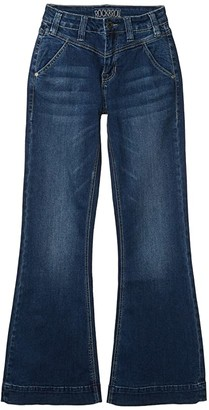 Rock and Roll Cowgirl High-Rise Trousers in Medium Wash W8H4142 (Medium Wash) Women's Jeans