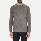Barbour Heritage Staple Crew Knitted Jumper Sandstone