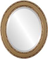 Oval And Round Mirrors Monticello Oval in