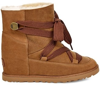 UGG Classic Femme Sheepskin UGGpure Lace-Up Boots