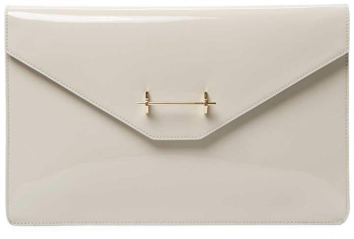 M2Malletier Patent Envelope Clutch