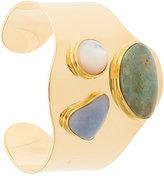 Lizzie Fortunato stone embellished bracelet