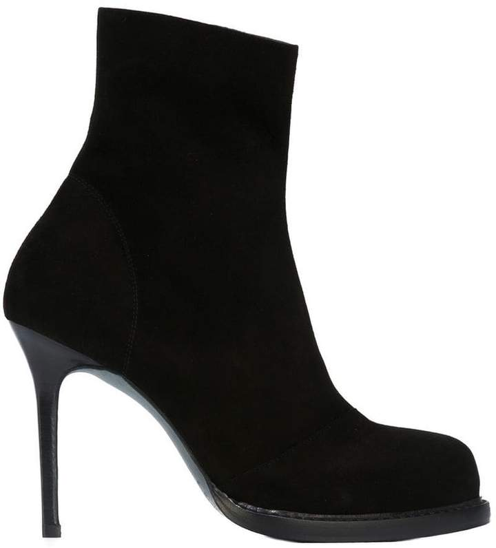 Ann Demeulemeester panelled ankle boots