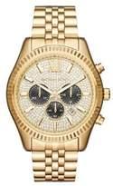 Michael Kors Lexington Stainless Steel Chronograph Bracelet Watch