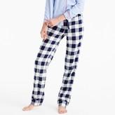 J.Crew Buffalo check pajama pant