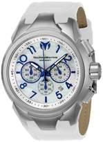 Technomarine Men's Sea Dream 48mm White Leather Band Quartz Watch Tm-715021
