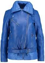 Gestuz EZRA Leather jacket royal