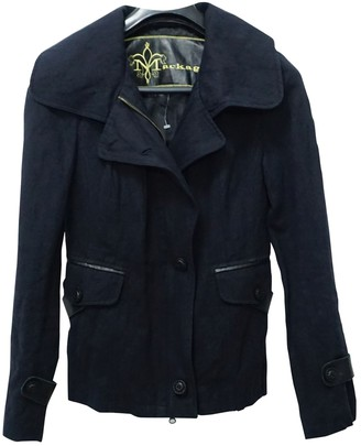 Mackage Black Cotton Jacket for Women