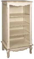 The Well Appointed House Versailles Creme Narrow French Bookcase