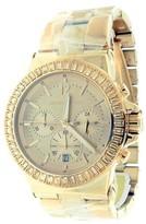 Michael Kors MK5412 Dylan Rose Golden Steel Crystal Quartz Watch