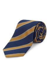 Jaeger Silk Grosgrain Stripe Tie