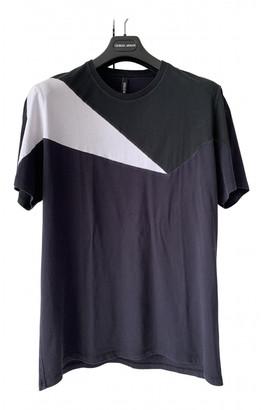 Neil Barrett Navy Cotton T-shirts