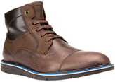 Geox Uvet Lace-up Leather Boots, Multi Brown