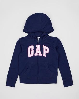 Gapkids Logo Full-Zip Hoodie - Teens