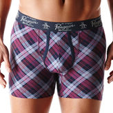 Original Penguin Plaid Boxer Brief