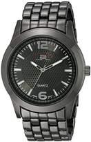 U.S. Polo Assn. Classic Men's US8444EXL Dial Extra Long Gun Metal Bracelet Watch