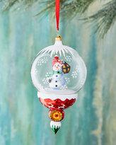 Christopher Radko A Lantern Lights the Way Snowman Ornament