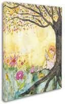 Trademark Art 'Book Nook' Canvas Art