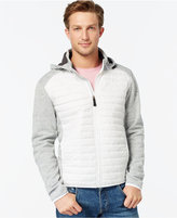 Point Zero Hooded Soft-Shell Fleece Jacket