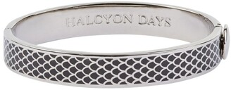 Halcyon Days Palladium Salamander Bangle