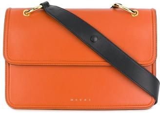 Marni accordion side satchel