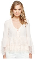 Nanette Lepore Virginia Lace Top Women's Clothing